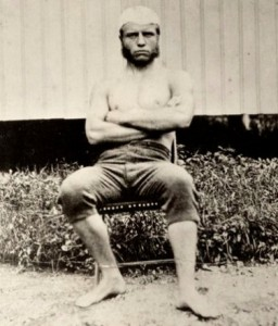 Barrel Chested Theodore Roosevelt